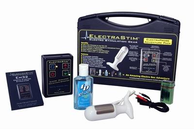 ElectraStim Elektroseks, complete Startset met Dildo