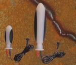 Electrosex Dildo 8 cm (links)